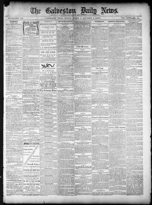 Primary view of object titled 'The Galveston Daily News. (Galveston, Tex.), Vol. 39, No. 305, Ed. 1 Sunday, March 13, 1881'.