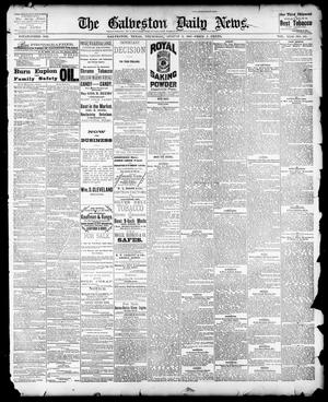 Primary view of object titled 'The Galveston Daily News. (Galveston, Tex.), Vol. 42, No. 133, Ed. 1 Thursday, August 2, 1883'.