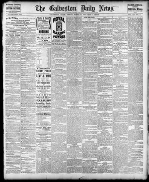 Primary view of object titled 'The Galveston Daily News. (Galveston, Tex.), Vol. 41, No. 2, Ed. 1 Friday, March 24, 1882'.