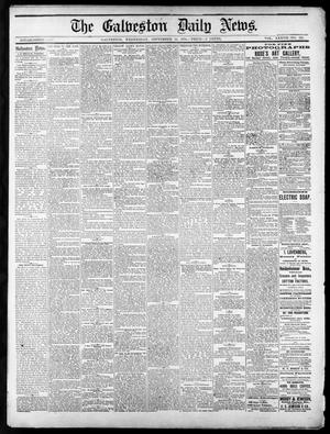 Primary view of object titled 'The Galveston Daily News. (Galveston, Tex.), Vol. 37, No. 153, Ed. 1 Wednesday, September 18, 1878'.