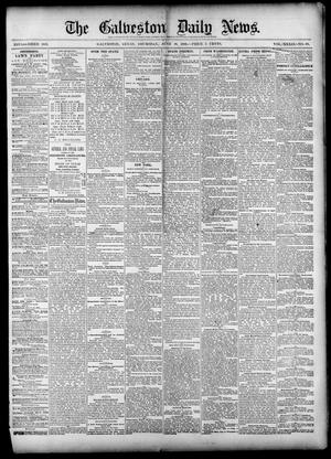 Primary view of object titled 'The Galveston Daily News. (Galveston, Tex.), Vol. 39, No. 68, Ed. 1 Thursday, June 10, 1880'.