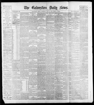 Primary view of object titled 'The Galveston Daily News. (Galveston, Tex.), Vol. 39, No. 94, Ed. 1 Saturday, July 10, 1880'.