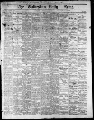 Primary view of object titled 'The Galveston Daily News. (Galveston, Tex.), No. 386, Ed. 1 Saturday, January 3, 1874'.