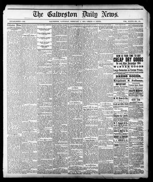 Primary view of object titled 'The Galveston Daily News. (Galveston, Tex.), Vol. 36, No. 271, Ed. 1 Saturday, February 2, 1878'.