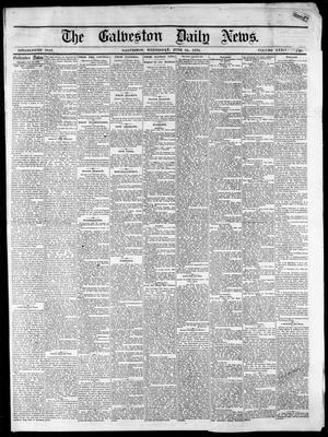 Primary view of object titled 'The Galveston Daily News. (Galveston, Tex.), Vol. 34, No. 145, Ed. 1 Wednesday, June 24, 1874'.