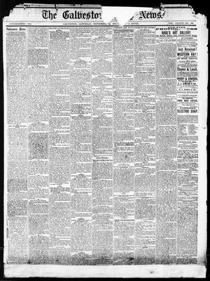 Primary view of object titled 'The Galveston Daily News. (Galveston, Tex.), Vol. 37, No. 150, Ed. 1 Saturday, September 14, 1878'.