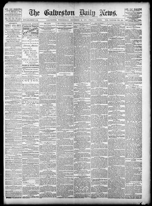 Primary view of object titled 'The Galveston Daily News. (Galveston, Tex.), Vol. 38, No. 225, Ed. 1 Wednesday, December 10, 1879'.