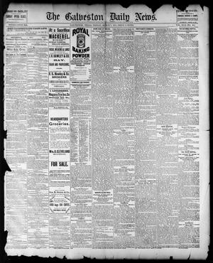 Primary view of object titled 'The Galveston Daily News. (Galveston, Tex.), Vol. 42, No. 351, Ed. 1 Friday, March 7, 1884'.