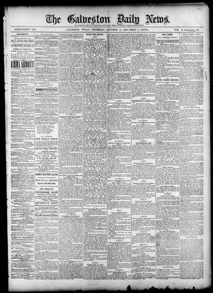 Primary view of object titled 'The Galveston Daily News. (Galveston, Tex.), Vol. 39, No. 176, Ed. 1 Thursday, October 14, 1880'.
