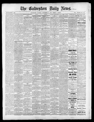 Primary view of object titled 'The Galveston Daily News. (Galveston, Tex.), Vol. 37, No. 205, Ed. 1 Sunday, November 17, 1878'.