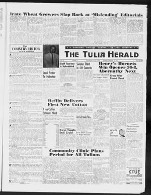 Primary view of object titled 'The Tulia Herald (Tulia, Tex), Vol. 50, No. 37, Ed. 1, Thursday, September 10, 1959'.