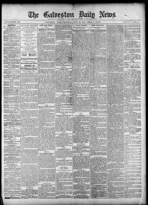 Primary view of object titled 'The Galveston Daily News. (Galveston, Tex.), Vol. 39, No. 78, Ed. 1 Tuesday, June 22, 1880'.