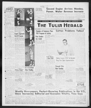 Primary view of object titled 'The Tulia Herald (Tulia, Tex), Vol. 48, No. 6, Ed. 1, Thursday, February 7, 1957'.