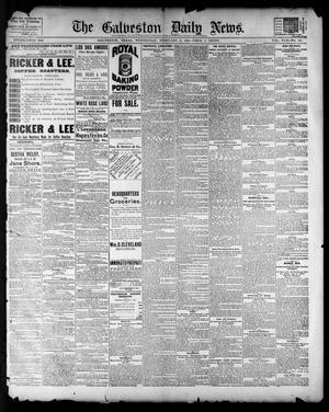 Primary view of The Galveston Daily News. (Galveston, Tex.), Vol. 42, No. 321, Ed. 1 Wednesday, February 6, 1884