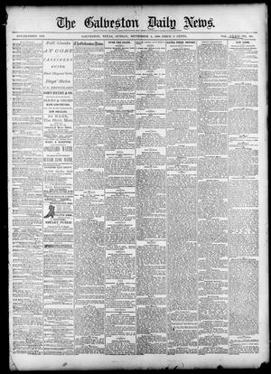 Primary view of object titled 'The Galveston Daily News. (Galveston, Tex.), Vol. 39, No. 143, Ed. 1 Sunday, September 5, 1880'.