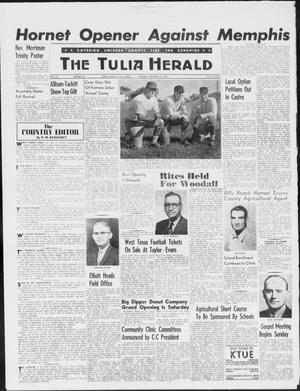 Primary view of The Tulia Herald (Tulia, Tex), Vol. 50, No. 36, Ed. 1, Thursday, September 3, 1959