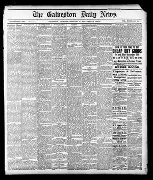 Primary view of The Galveston Daily News. (Galveston, Tex.), Vol. 36, No. 281, Ed. 1 Thursday, February 14, 1878