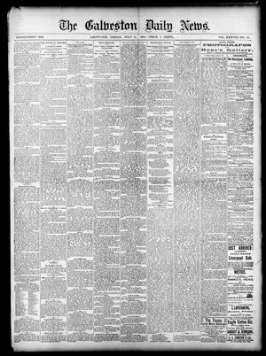 Primary view of object titled 'The Galveston Daily News. (Galveston, Tex.), Vol. 38, No. 94, Ed. 1 Friday, July 11, 1879'.