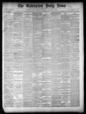 Primary view of object titled 'The Galveston Daily News. (Galveston, Tex.), Vol. 39, No. 258, Ed. 1 Tuesday, January 18, 1881'.