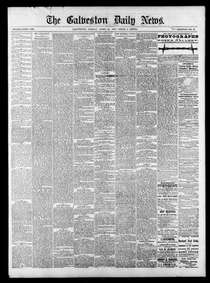 Primary view of object titled 'The Galveston Daily News. (Galveston, Tex.), Vol. 38, No. 22, Ed. 1 Friday, April 18, 1879'.