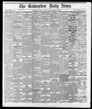 Primary view of object titled 'The Galveston Daily News. (Galveston, Tex.), Vol. 37, No. 125, Ed. 1 Friday, August 16, 1878'.
