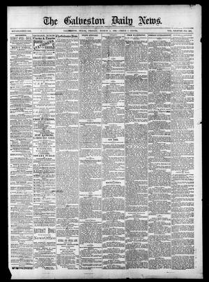 Primary view of object titled 'The Galveston Daily News. (Galveston, Tex.), Vol. 38, No. 299, Ed. 1 Friday, March 5, 1880'.