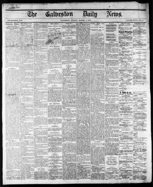 Primary view of object titled 'The Galveston Daily News. (Galveston, Tex.), Vol. 34, No. 53, Ed. 1 Sunday, March 8, 1874'.
