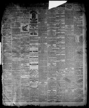 Primary view of object titled 'The Galveston Daily News. (Galveston, Tex.), Vol. 42, No. 285, Ed. 1 Tuesday, January 1, 1884'.