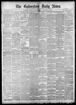 Primary view of object titled 'The Galveston Daily News. (Galveston, Tex.), Vol. 39, No. 167, Ed. 1 Sunday, October 3, 1880'.