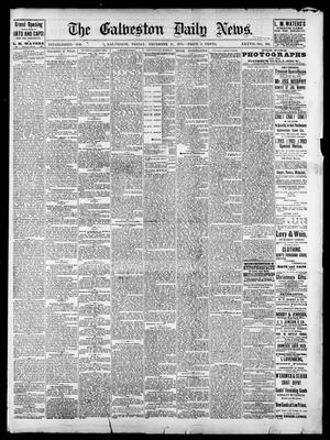 Primary view of object titled 'The Galveston Daily News. (Galveston, Tex.), Vol. 37, No. 239, Ed. 1 Friday, December 27, 1878'.