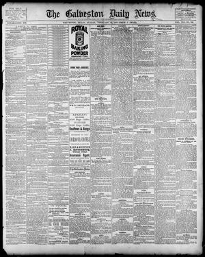 Primary view of object titled 'The Galveston Daily News. (Galveston, Tex.), Vol. 41, No. 292, Ed. 1 Sunday, February 25, 1883'.