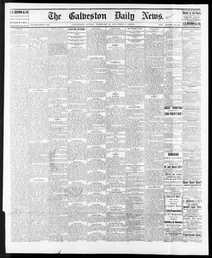 Primary view of object titled 'The Galveston Daily News. (Galveston, Tex.), Vol. 33, No. 248, Ed. 1 Sunday, February 20, 1876'.