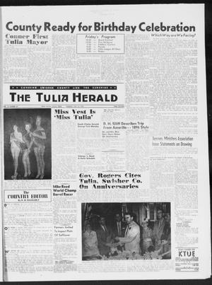 Primary view of object titled 'The Tulia Herald (Tulia, Tex), Vol. 50, No. 29, Ed. 1, Thursday, July 16, 1959'.