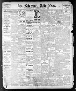 Primary view of object titled 'The Galveston Daily News. (Galveston, Tex.), Vol. 42, No. 206, Ed. 1 Sunday, October 14, 1883'.