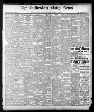 Primary view of object titled 'The Galveston Daily News. (Galveston, Tex.), Vol. 37, No. 12, Ed. 1 Saturday, April 6, 1878'.
