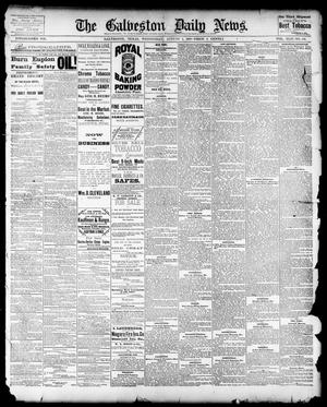 Primary view of object titled 'The Galveston Daily News. (Galveston, Tex.), Vol. 42, No. 132, Ed. 1 Wednesday, August 1, 1883'.