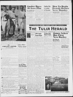 Primary view of object titled 'The Tulia Herald (Tulia, Tex), Vol. 50, No. 24, Ed. 1, Thursday, June 11, 1959'.