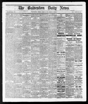 Primary view of The Galveston Daily News. (Galveston, Tex.), Vol. 36, No. 90, Ed. 1 Friday, July 6, 1877