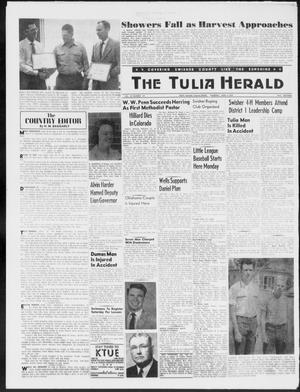 Primary view of object titled 'The Tulia Herald (Tulia, Tex), Vol. 50, No. 23, Ed. 1, Thursday, June 4, 1959'.