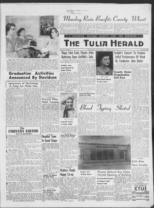 Primary view of object titled 'The Tulia Herald (Tulia, Tex), Vol. 49, No. 20, Ed. 1, Thursday, May 15, 1958'.