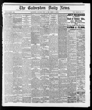 Primary view of object titled 'The Galveston Daily News. (Galveston, Tex.), Vol. 37, No. 48, Ed. 1 Saturday, May 18, 1878'.