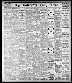 Primary view of object titled 'The Galveston Daily News. (Galveston, Tex.), Vol. 35, No. 259, Ed. 1 Saturday, January 20, 1877'.