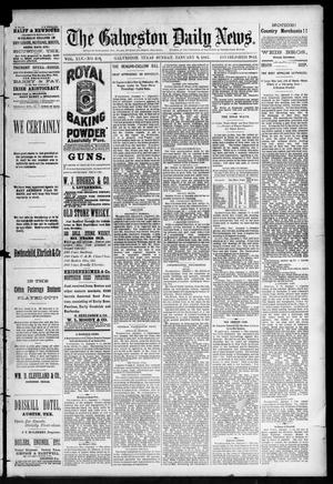 Primary view of object titled 'The Galveston Daily News. (Galveston, Tex.), Vol. 45, No. 258, Ed. 1 Sunday, January 9, 1887'.