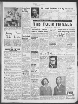 Primary view of object titled 'The Tulia Herald (Tulia, Tex), Vol. 49, No. 17, Ed. 1, Thursday, April 24, 1958'.