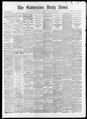 Primary view of object titled 'The Galveston Daily News. (Galveston, Tex.), Vol. 38, No. 251, Ed. 1 Friday, January 9, 1880'.