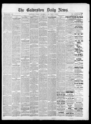 Primary view of object titled 'The Galveston Daily News. (Galveston, Tex.), Vol. 37, No. 217, Ed. 1 Sunday, December 1, 1878'.