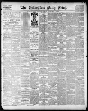 Primary view of object titled 'The Galveston Daily News. (Galveston, Tex.), Vol. 41, No. 258, Ed. 1 Wednesday, January 17, 1883'.