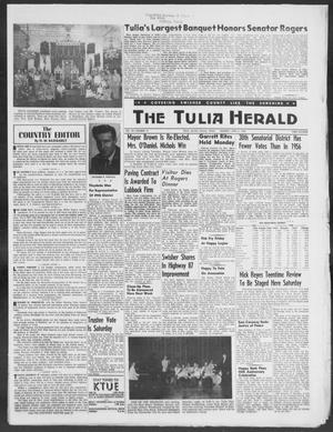 The Tulia Herald (Tulia, Tex), Vol. 49, No. 14, Ed. 1, Thursday, April 3, 1958