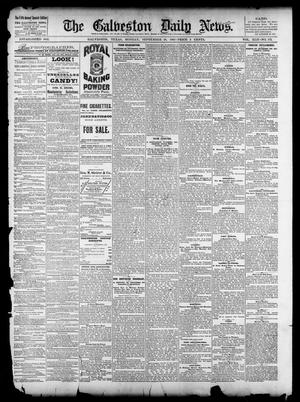 Primary view of object titled 'The Galveston Daily News. (Galveston, Tex.), Vol. 42, No. 172, Ed. 1 Monday, September 10, 1883'.