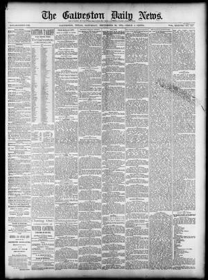 Primary view of object titled 'The Galveston Daily News. (Galveston, Tex.), Vol. 38, No. 156, Ed. 1 Saturday, September 20, 1879'.